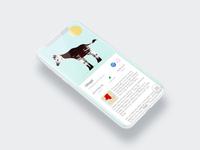 To the Zoo - Illustred UI - Okapi