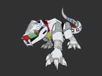 Sabertooth Dinozord - Air Max Fusion