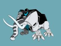 Mastodont Dinozord - Air Max Fusion