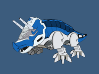 Triceratops Dinozord - Air Max Fusion