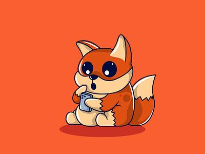 Fox - See Tiktok Content animal food mbe style cartoon character cartoons character cartoon character design characters food character animal character mascot logo mascot character mascot illustration animation
