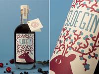 Sloe Gin Label