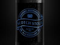 Whisky beer design concept