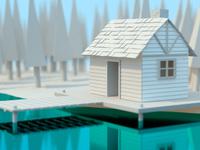 Cabin Lake House