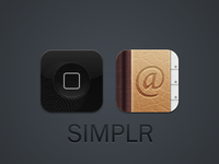 WinterBoard And Contacts Icons