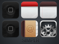 Simplr Icons Improved!