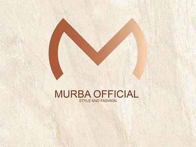 MURBA OFS typography ux ui business illustrator illustration flat design graphic design branding fashion brand letter m logo fashion