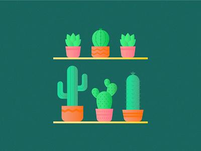 Cactus web app design cactus icon cactus illustration cactus iconography pictogram logo vector icon set icon design illustrator illustration