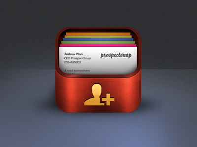 Icon For Business Card App By Sarah Parmenter Dribbble Dribbble
