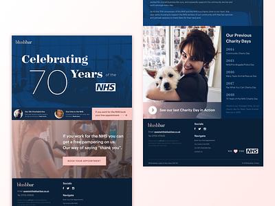 Celebrating 70 Years of the NHS design adobe adobexd ui