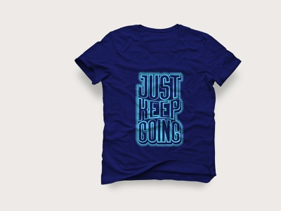 Lettering/typography t shirt design typography modern