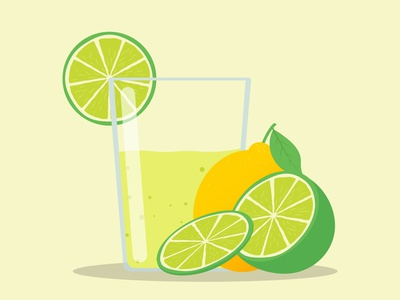 Lemonade illustration adobe illustrator freelancer freelance design graphic design illustration art lemon illustration flat vector branding illustration design