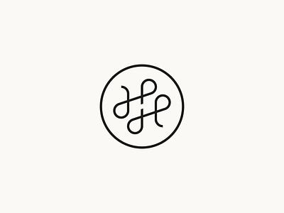 HH Crafts logodesign lines tailor crafts leather logomarks logomark design branding brand logo