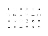 Line Icon Pack - Free Download
