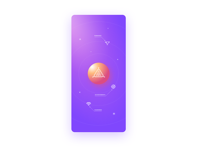 Space Run playoff contest colors purple space creative icon icons adobe xd