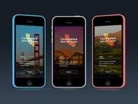 California Report Card UI concept