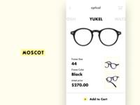 Eyeglasses app