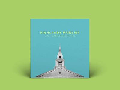 VOL 1: Wonderful Things EP blue lime music acoustic ep chapel album art