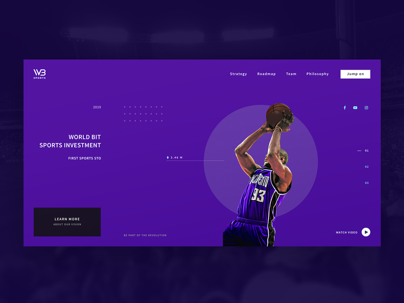 WBS Layout Basketball investment crypto basketball sports screen design layout ui design
