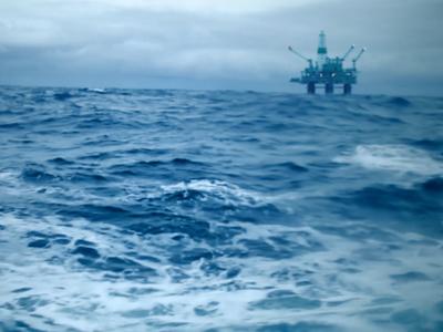 Seakeeper Documentary - Clean Gulf - Oil Rig Scene