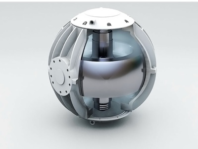 Seakeeper Exploded View 3D Model