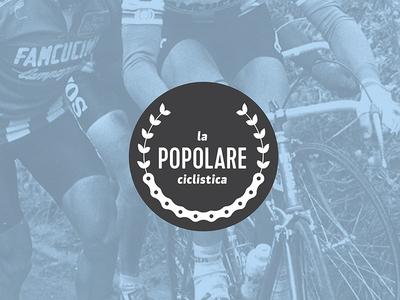 La Popolare Ciclistica bike cycling logo