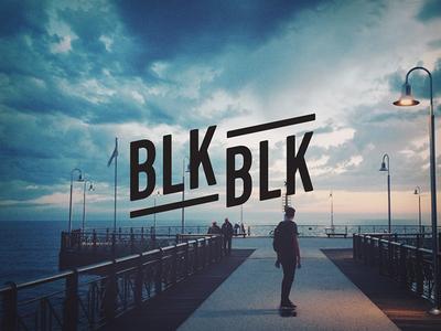 Blackblk Logo logo identity branding