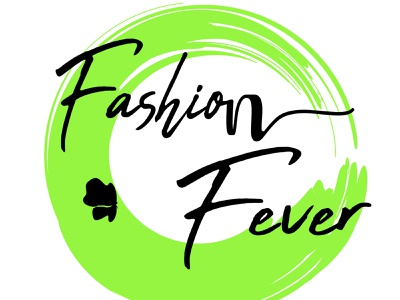 Fashion Fever Logo typogaphy minimal icon illustraion branding logo design