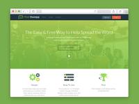 Postswapp Landing Page