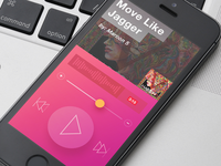 iOS Music App Player Case