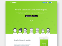 Topes Landing Page