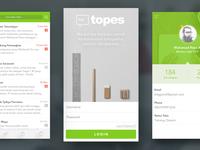 Topes Messanger App