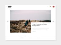 Blog post concept
