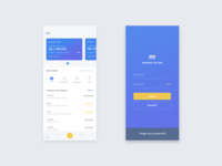 Mandiri Online App Concept