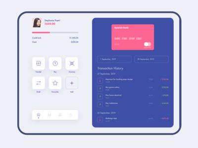 Tablet Banking App