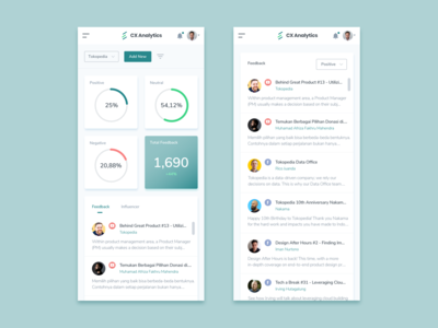 Mobile Admin Dashboard