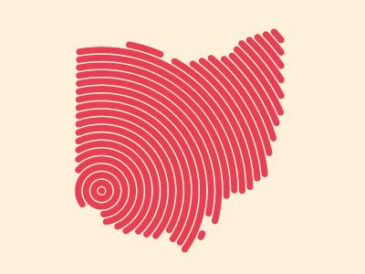 Ohio Original ohio graphic design buckeye state midwest cincinnati illustration