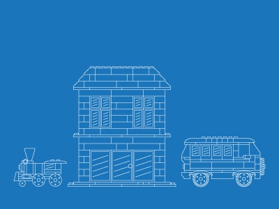 Lego blueprints by nathan seaman dribbble blueprint lego designs ive been working on for a client malvernweather Images