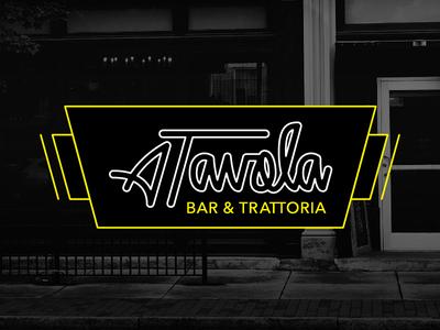 A Tavola Logo Redesign