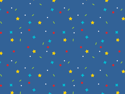 Simple Pattern circle diamond star illustrator line pattern