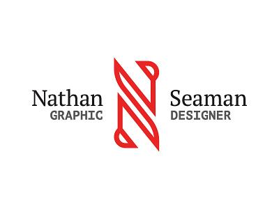 Nathan Seaman Rebrand identity handlettering branding rebrand logo type typography