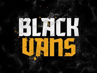 Black Vans Final Cover Art marble podcasting vans typography podcast music cover art blackletter