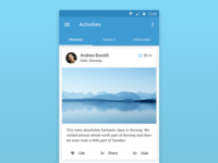 FriendsPic — mobile social network
