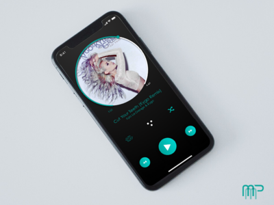 Daily UI Challenge 009: Music Player