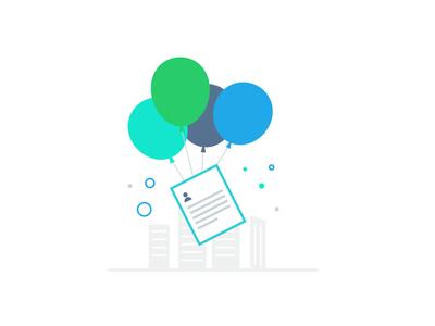 Auto generated resume portfolio baloons resume