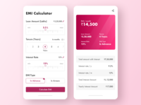 Car Loan EMI Calculator #dailyui