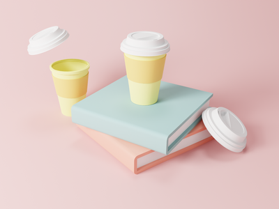 3D Illustration - Blender 3D branding graphic design icon vector ui minimal illustration 3d design clean app