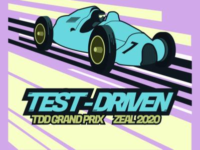 Test-Drive T-Shirt Concept zeal t-shirt design test-driven t-shirt