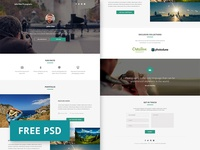 Debut Shot - Grapher PSD freebie