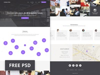 Collabo-Orbit - Coworking Free Psd Web Template